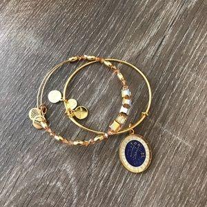 Gemini bracelet bangles